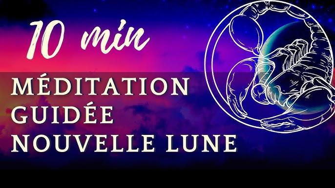 Méditation Guidée Nouvelle Lune du 6 Octobre 2021   Nouvelle Lune En  Balance - YouTube