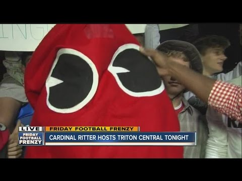 Pep rally at Cardinal Ritter High School Friday morning for Friday Football Frenzy