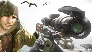 REAL THERELAXINGEND! Call of Duty Ghosts SNIPER KEMS Infected Gameplay
