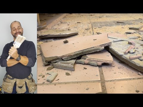 How to Remove A Ceramic Floor