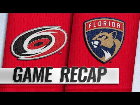 Williams, Hurricanes stave off Panthers, 4-3