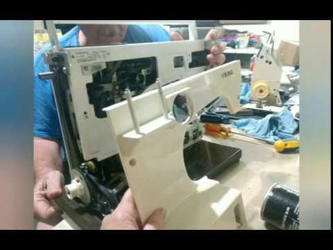 Restoring A Viking Husqvarna 6460 Sewing Machine