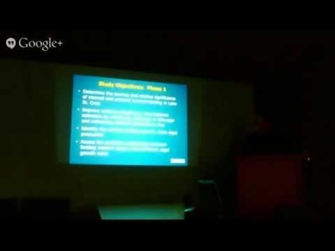 SCRA Brown Bag Forum #1 - Dr. Richard Kiesling, Algae