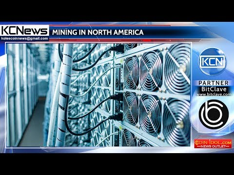 North America become the center of mining