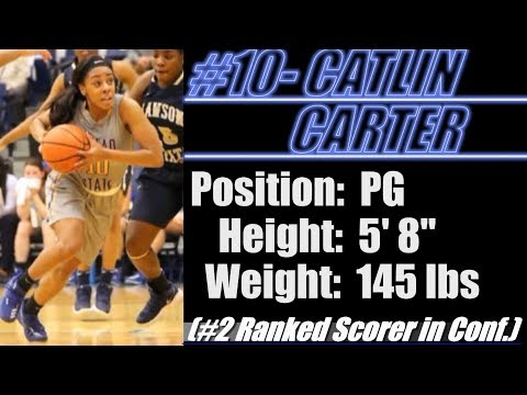 """2018-Street Light Recruiting- JUCO BBALL G-Catlin Carter (5' 8""""-145) -Snead State Community College"""