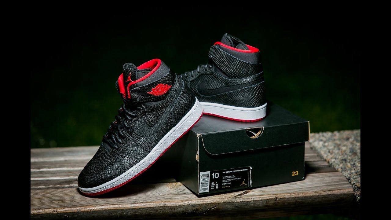 Air Jordan 1 Rétro Haut Nouveau Agate Snakeskin