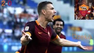 Roma-Lazio 2-0 Gol Telecronaca Carlo Zampa (8-11-2015)