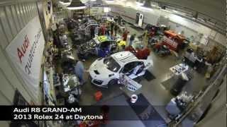 Audi R8 Grand AM 2013 Videos