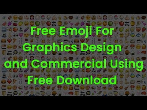Free Emoji Download For Graphics Design and Commercial Using Tutorial In  HIndi