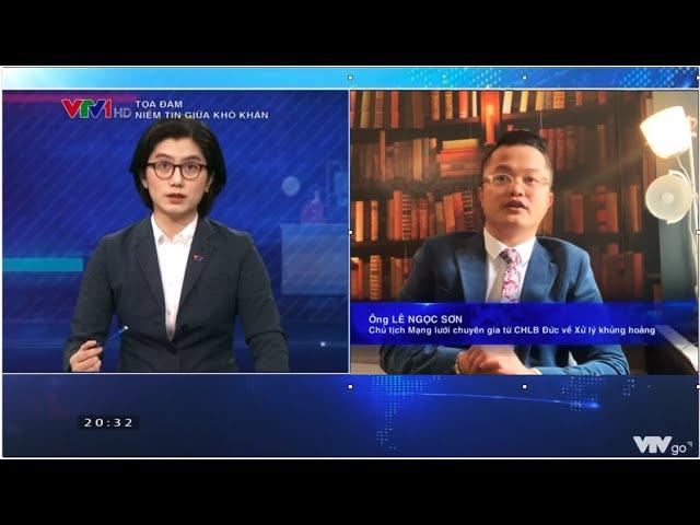 VTV1 - Chuyên gia Lê Ngọc Sơn bàn về niềm tin trong đại dịch COVID-19