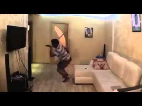 Nigerian boy dances on ringtone.  Funny comedy.!!