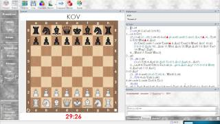 Анализ шахматной партии. Сицилианская защита (Олеся черными). Урок 17