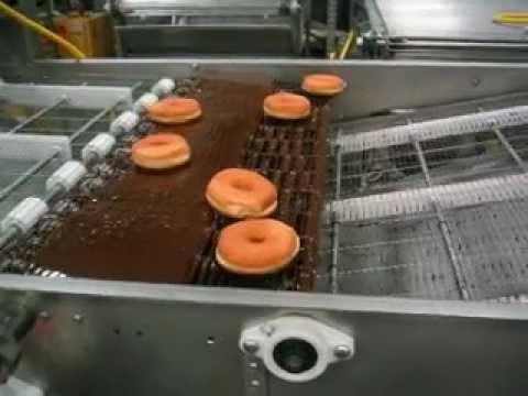 Higgs Equipment Donut Half Icing Machine