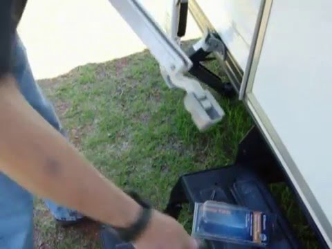 Replacing A RV AE Series Awning Rafter Arm Slider Assemble