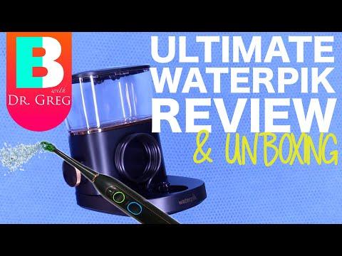 Best Waterpik Water Flosser Review (Sonic Fusion And Aquarius Demo)