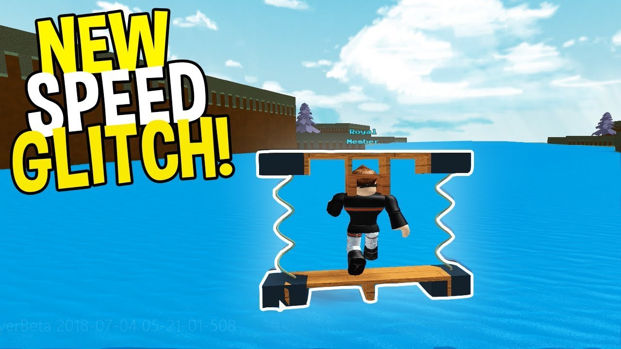 *NEW SPEED GLITCH* SLIDE TO THE END! | Build A Boat For Treasure ROBLOX