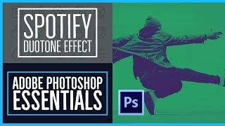 Comment créer le Spotify Bichromie effet Photoshop CC Essentials [64/86]