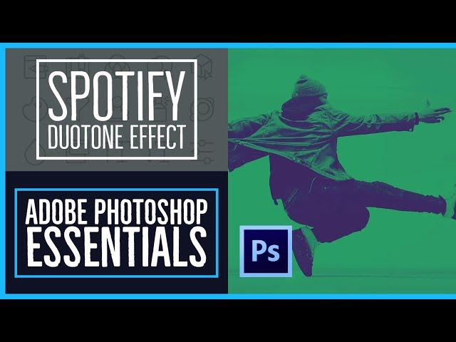 How to create the Spotify Duotone effect - Photoshop CC Essentials [64/86]