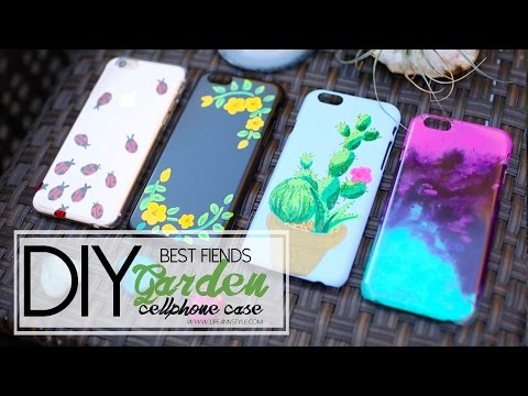 DIY Sharpie Paint Cellphone Case - Best Fiends | ANN LE