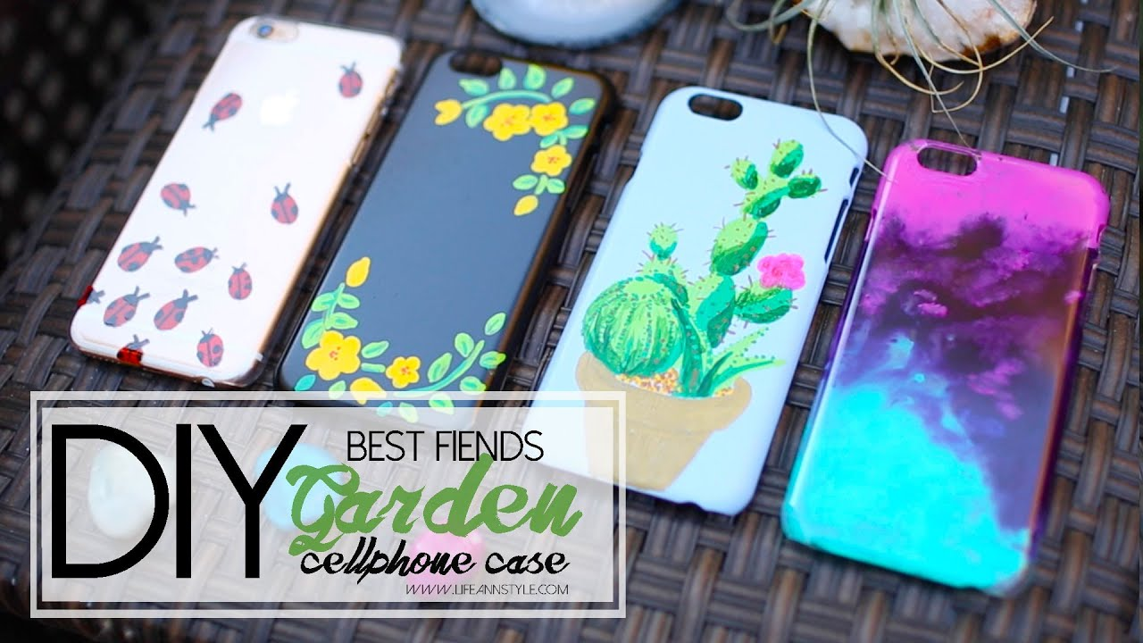 Diy Sharpie Paint Cellphone Case Best Fiends Ann Le Youtube