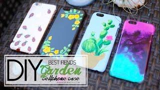 DIY Sharpie Paint Cellphone Case - Best Fiends | ANN LE thumbnail