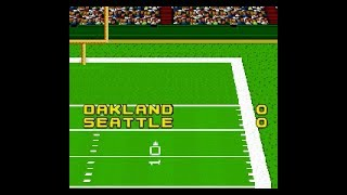 John Madden Football   SNES   Division Round 3   AFC West   Oakland at Seattle   SGCTS