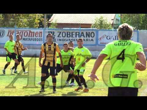 "JV - Torneo Argentino ""B"" 2013/14 Atl. Palmira vs sportivo del bono de san juan 16-02-2014"