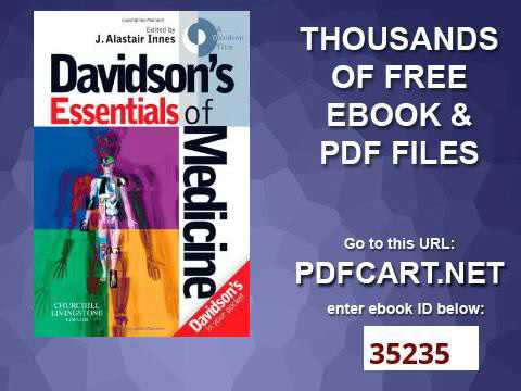 Davidsons Essentials Of Medicine Pdf