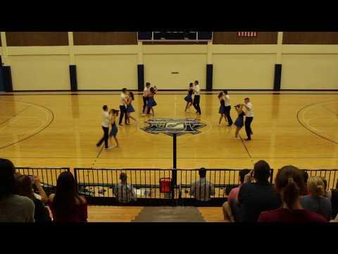 University of Dallas Swing Team Performance Fall 2017