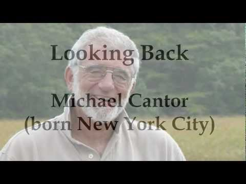 Looking Back by Michael Cantor (poetry reading)