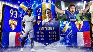 I PACKED 93 TOTS BEN YEDDER!! 200 LA LIGA PACKS! FIFA 19
