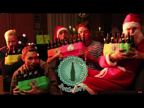Bottle Boys - Santa Claus Is Coming To Town on Beer Bottles
