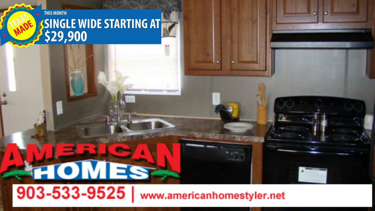 Single wide mobile homes tyler texas american homes for American homes tyler tx