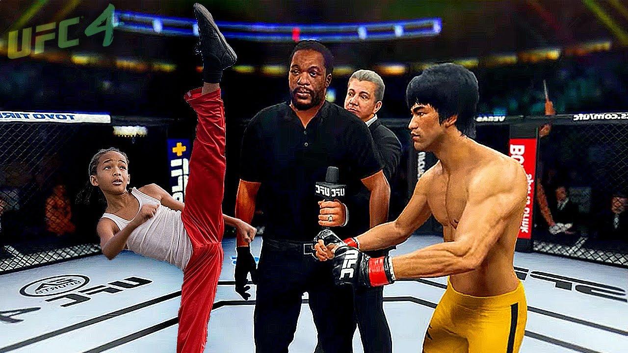 UFC4 | Bruce Lee vs. Karate Child (Kid) - EA sports UFC 4