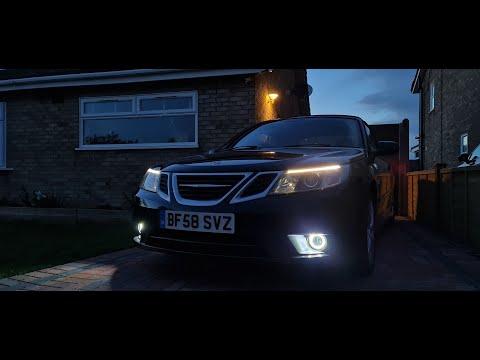 Saab 9-3 DRL Install