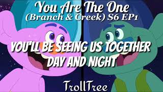 You Are The One {Lyrics}|Trolls The Beat Goes On Season 6 SOUNDTRACK 2