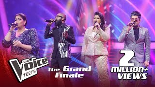 Coaches Performance | Grand Finale | The Voice Teens Sri Lanka