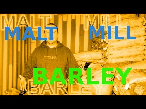 BARLEY! MALT, MILL: How To: Microbrewery!!