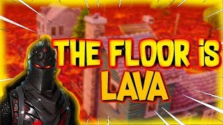 THE FLOOR IS LAVA MAP CODE (Fortnite Creative Mode)