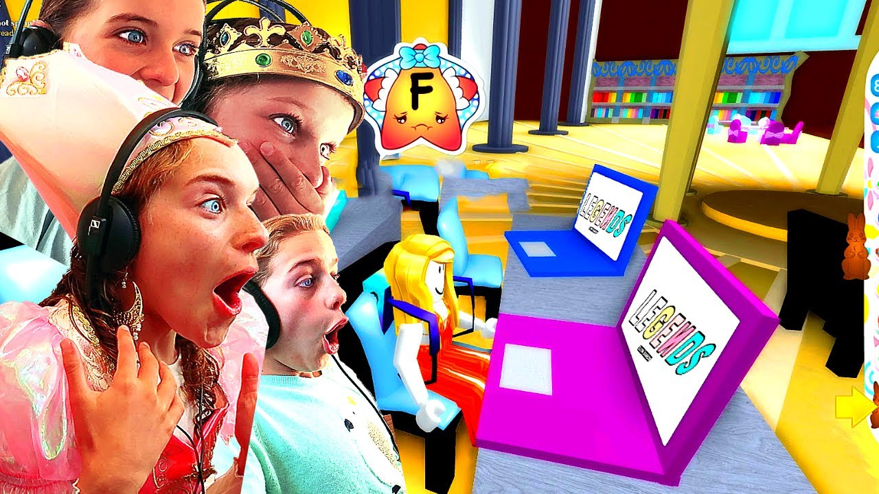 The Norris Nuts Roblox Account Homeschool Kids Go To School For The First Time At Royale High Roblox Gaming W The Norris Nuts Youtube