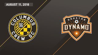 HIGHLIGHTS: Columbus Crew SC vs. Houston Dynamo | August 11, 2018