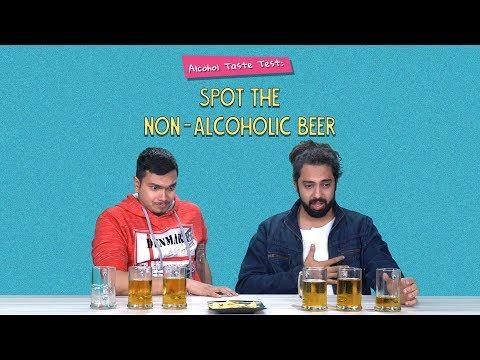 Alcohol Taste Test: Spot The Non-Alcoholic Beer   Ft. Sonali & Akshay   Ok Tested