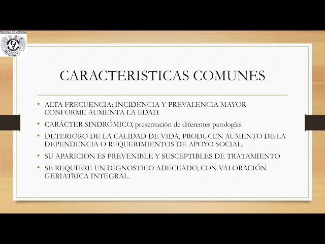 Síndromes Geriátricos Dr. Carlos D´Hyver