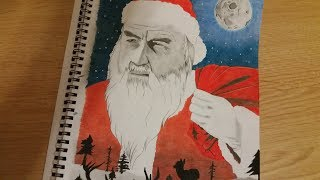 How to Draw a Santa Claus_Merry Christmas