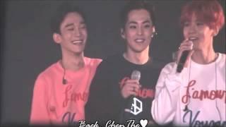 [eng sub] 151010 EXO-Love Dome Concert - MINIONZ (XiuBaekChen)