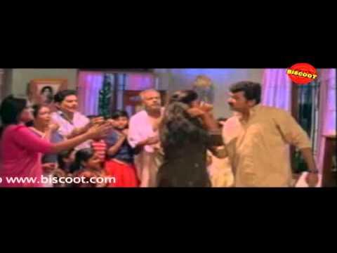 Njangal Santhushtaranu Malayalam Movie Comedy Scene abhirami and  jayaram jagathty