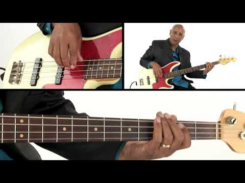 Motown Bass Guitar Lesson - Embellished Passing Tone - Andrew Ford