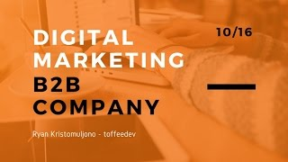 Digital Marketing Untuk Perusahaan ...