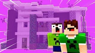 Minecraft ÉPICO 💚 : COMO FAZER A TROLLAGEM DA CASA INVISÍVEL !!