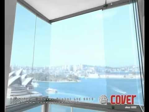 Безрамное балконное остекление - youtube.